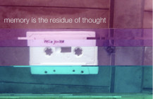 """""""memory is the residue of thought"""", solo CD, released on Kohlenstoff Records"""
